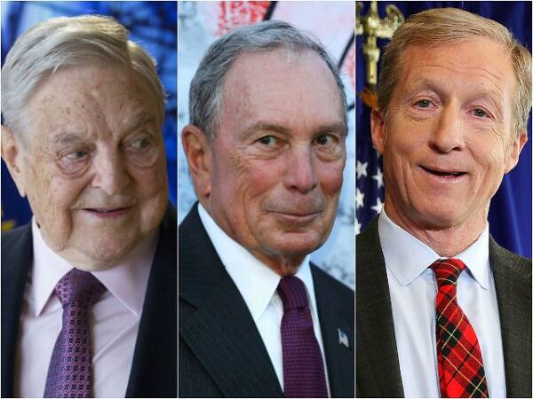 george soros michael bloomberg tom steyer split getty images 640x480 1