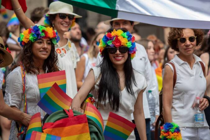 rome italy june 8 2019 public demonstration of the gay pride homosexuals of various kinds parade t20 axBgLP scaled